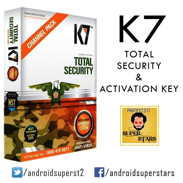 k7 total security serial key 2016