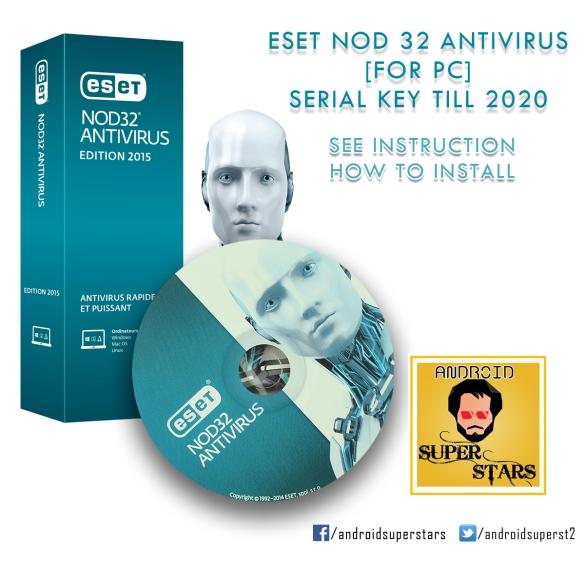 nod32 9 activation key 2020